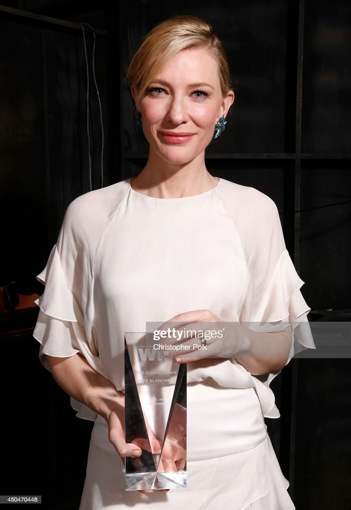 Actress Cate Blanchett, Crystal Award for Excellence in Film award recipient, attends Women In Film 2014 Crystal + Lucy Awards presented by MaxMara, BMW, Perrier-Jouet and South Coast Plaza held at the Hyatt Regency Century Plaza on June 11, 2014 in Los Angeles, California.