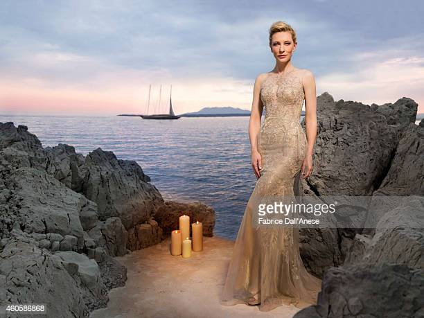 Actress Cate Blanchett is photographed for Vanity Fair Italy on May 15 2014 in Cannes France