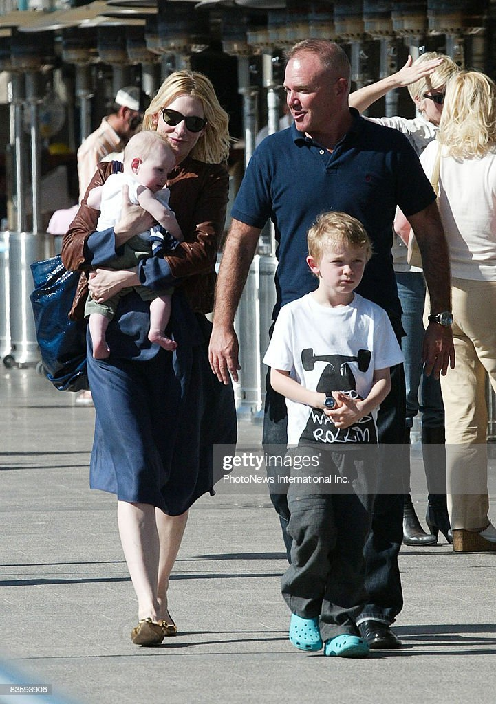 Cate Blanchett And Family Lunch In Sydney | Getty Images