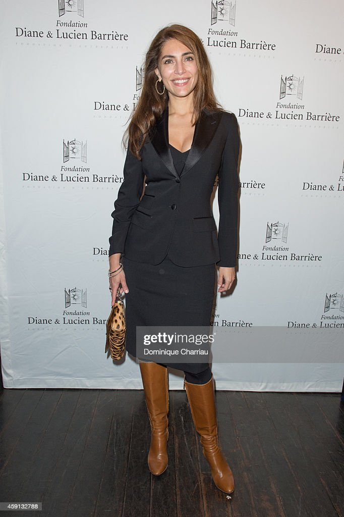 Actress Caterina Murino attends 'Les Heritiers' Premiere Hosted by Fondation Diane & Lucien Barriere at Publicis Champs Elysees on November 17, 2014 in Paris, France.