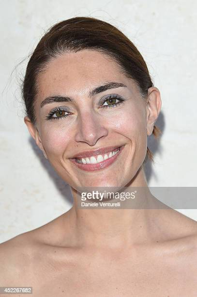 Actress Caterina Murino attends the 12th Salento Finibus Terrae sponsors by Baume Mercier at Borgo Egnazia on July 16 2014 in Brindisi Italy