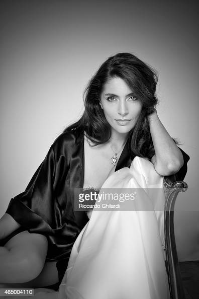 Actress Caterina Murino is photographed for Self Assignment on September 18 2014 in Rome Italy