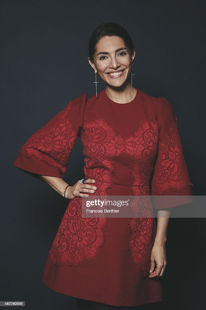 Actress <a gi-track='captionPersonalityLinkClicked' href=/galleries/search?phrase=Caterina+Murino&family=editorial&specificpeople=619334 ng-click='$event.stopPropagation()'>Caterina Murino</a> i?s photographed for Self Assignment on February 4, 2014 in Paris, France.