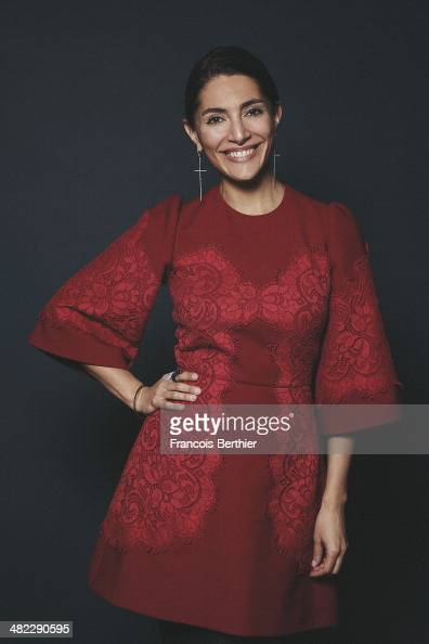 Actress Caterina Murino is photographed for Self Assignment on February 4 2014 in Paris France