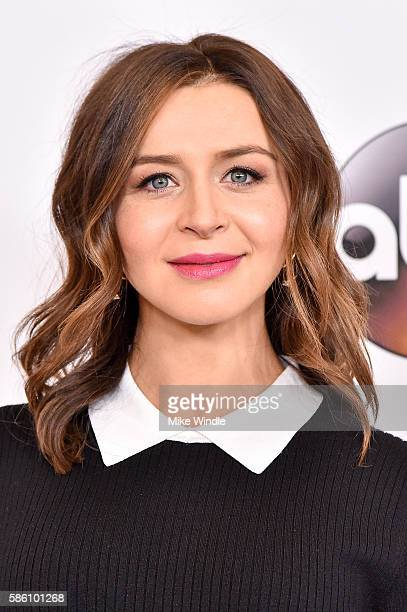 Actress Caterina Scorsone attends the Disney ABC Television Group TCA Summer Press Tour on August 4 2016 in Beverly Hills California