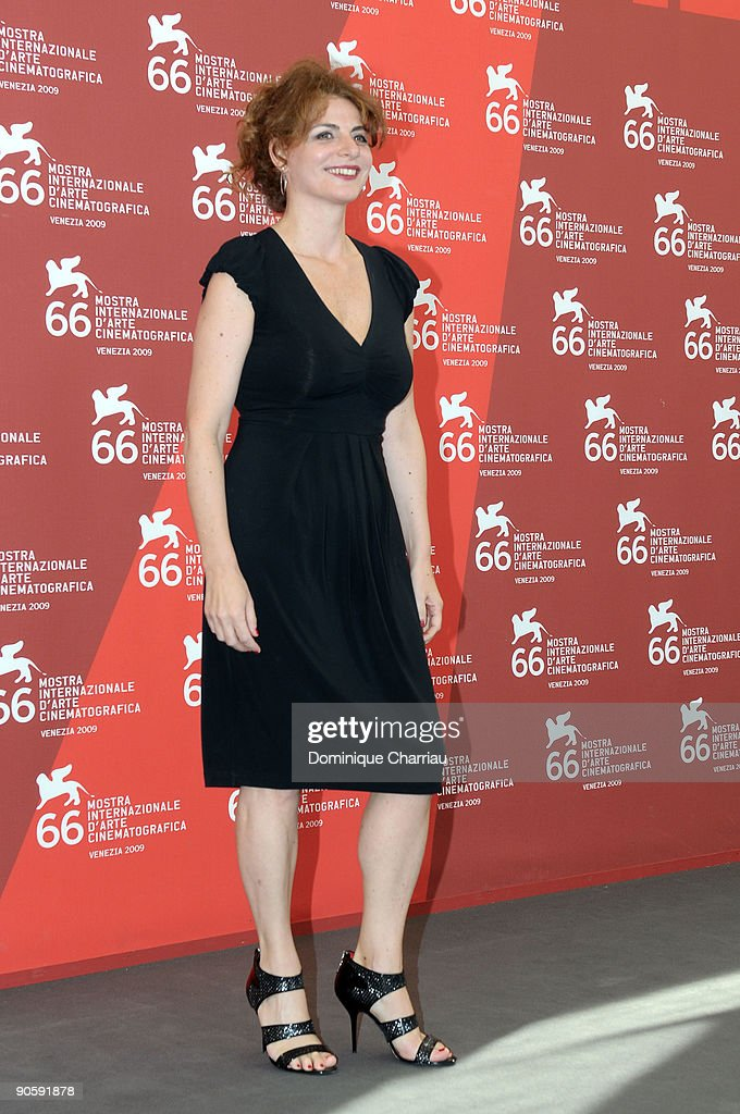 Actress Caterina Varzi attends 'Hotel Courbet' Photocall at the Palazzo del Casino during the 66th Venice Film Festival on September 11, 2009 in Venice, Ita