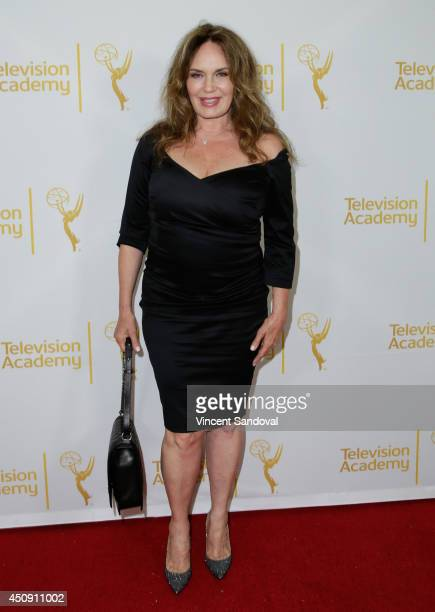 Actress Catherine Bach attends the Television Academy Daytime Emmy Nominee reception at The London West Hollywood on June 19 2014 in West Hollywood...