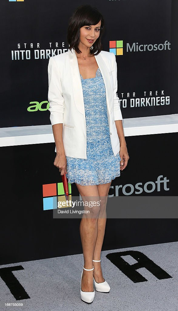 Actress Catherine Bell attends the premiere of Paramount Pictures' 'Star Trek Into Darkness' at the Dolby Theatre on May 14, 2013 in Hollywood, California.