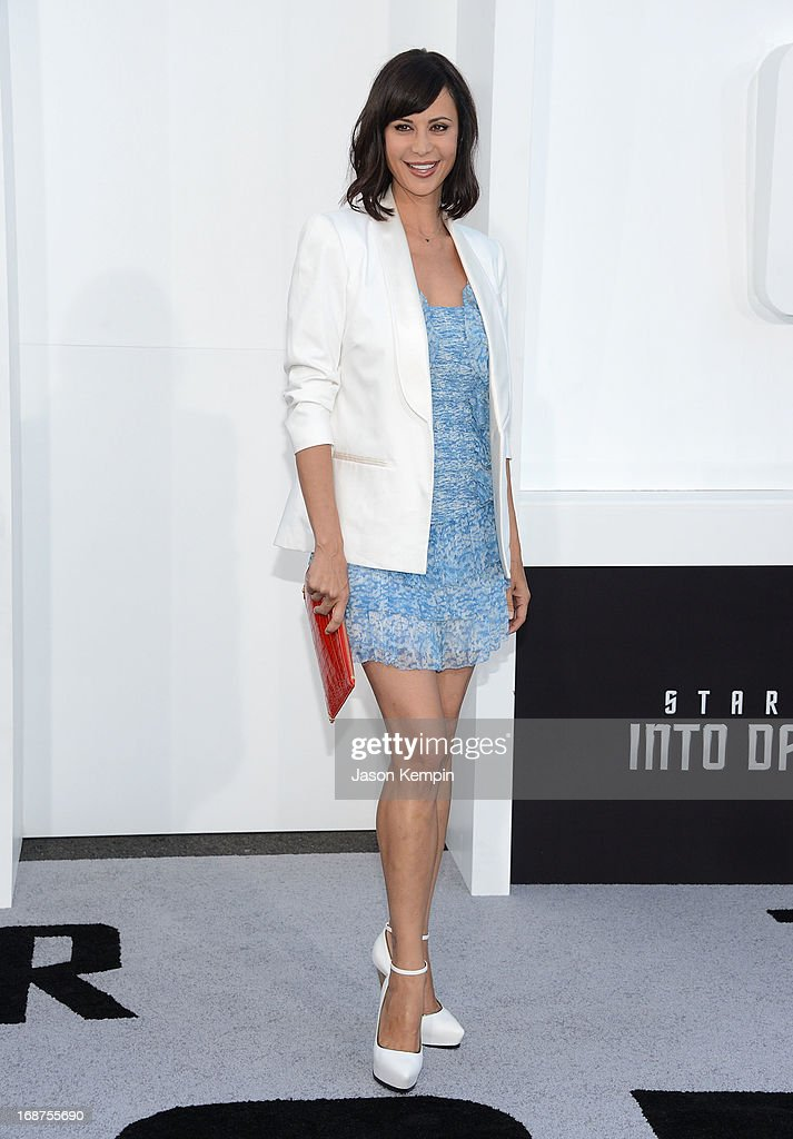 Actress Catherine Bell attends the premiere of Paramount Pictures' 'Star Trek Into Darkness' at Dolby Theatre on May 14, 2013 in Hollywood, California.