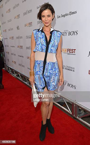 Actress Catherine Bell attends the premiere of Warner Bros Pictures' 'Jersey Boys' during the 2014 Los Angeles Film Festival at Regal Cinemas LA Live...