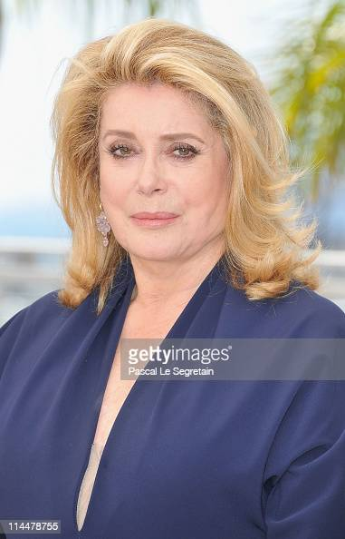 Actress Catherine Deneuve attends the 'Les BienAimes' Photocall at Palais des Festivals during the 64th Annual Cannes Film Festival on May 21 2011 in...