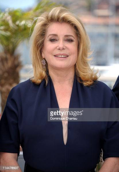 Actress Catherine Deneuve attends the 'Les BienAimes' Photocall during the 64th Cannes Film Festival at the Palais des Festivals on May 21 2011 in...
