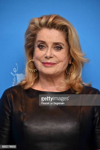 Actress Catherine Deneuve attends the 'The Midwife' photo call during the 67th Berlinale International Film Festival Berlin at Grand Hyatt Hotel on...