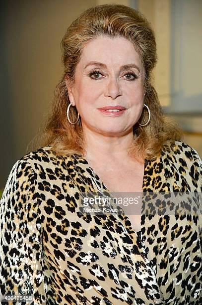 Actress Catherine Deneuve poses for a portrait at t6th Annual Hawai'i European Cinema Film Festival Announces 'A Celebration Of Catherine Deneuve' on...
