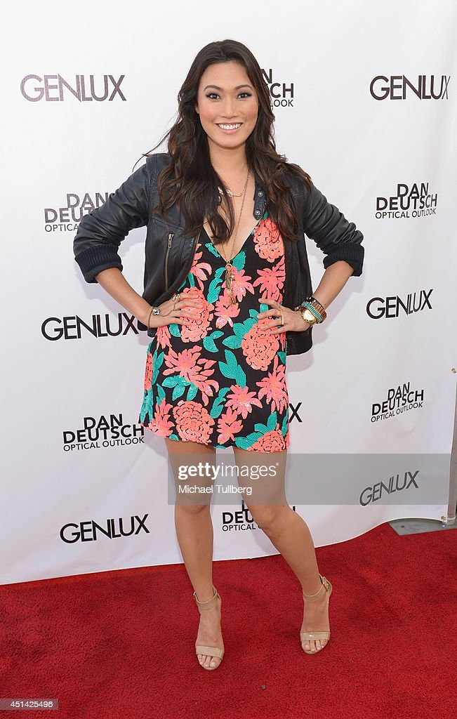 Actress Catherine Haena Kim attends Genlux Magazine's launch party for their new issue at Luxe Hotel on June 28, 2014 in Los Angeles, California.