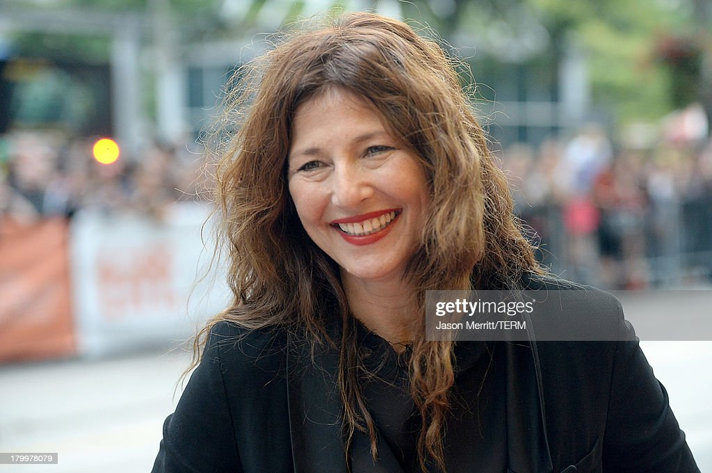Actress <a gi-track='captionPersonalityLinkClicked' href=/galleries/search?phrase=Catherine+Keener&family=editorial&specificpeople=239455 ng-click='$event.stopPropagation()'>Catherine Keener</a> arrives at the 'Can A Song Save Your Life?' premiere during the 2013 Toronto International Film Festival at Princess of Wales Theatre on September 7, 2013 in Toronto, Canada.
