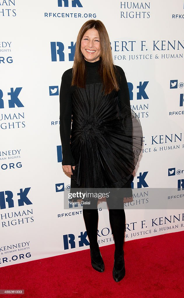 Actress <a gi-track='captionPersonalityLinkClicked' href=/galleries/search?phrase=Catherine+Keener&family=editorial&specificpeople=239455 ng-click='$event.stopPropagation()'>Catherine Keener</a> attends the 2013 Ripple of Hope Awards Dinner at New York Hilton on December 11, 2013 in New York City.
