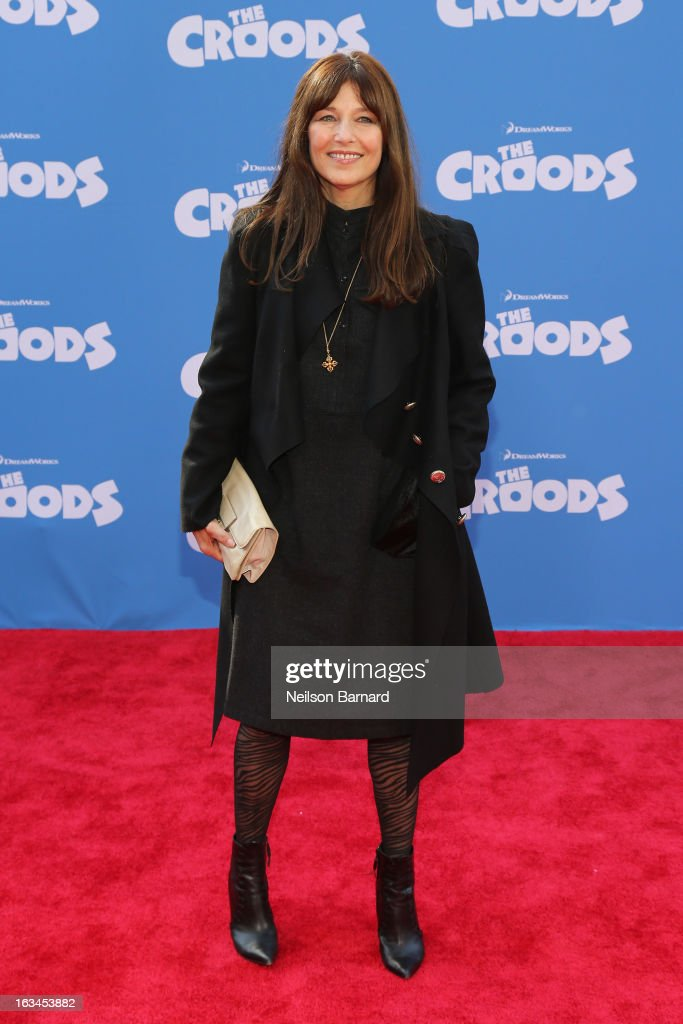 Actress Catherine Keener attends 'The Croods' premiere at AMC Loews Lincoln Square 13 theater on March 10 2013 in New York City