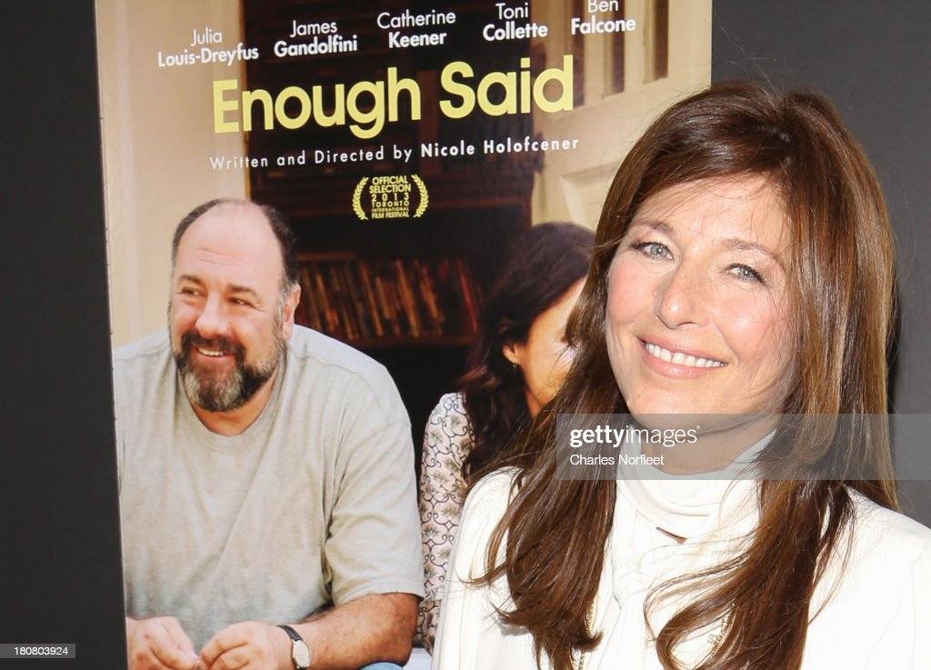Actress Catherine Kenner attends 'Enough Said' New York Screening at Paris Theater on September 16, 2013 in New York City.