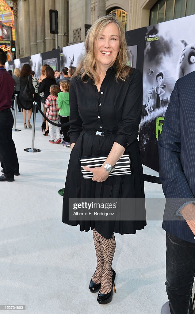 Actress Catherine O'Hara arrives at Disney's 'Frankenweenie' premiere at the El Capitan Theatre on September 24, 2012 in Hollywood, California.