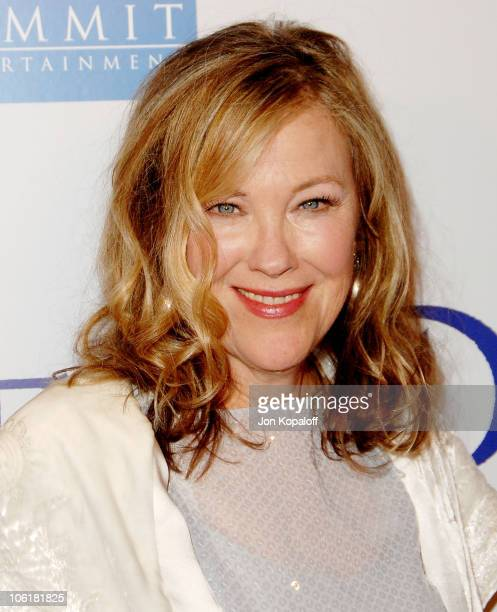 Actress Catherine O'Hara arrives at the Los Angeles Premiere 'Penelope' at the Directors Guild of America on February 20 2008 in Los Angeles...
