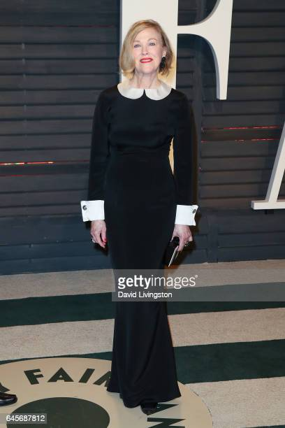 Actress Catherine O'Hara attends the 2017 Vanity Fair Oscar Party hosted by Graydon Carter at the Wallis Annenberg Center for the Performing Arts on...