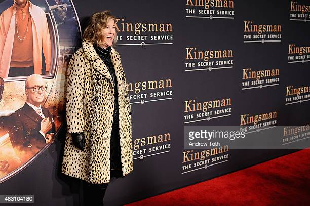 Actress Catherine O'Hara attends the 'Kingsman The Secret Service' New York premiere at SVA Theater on February 9 2015 in New York City