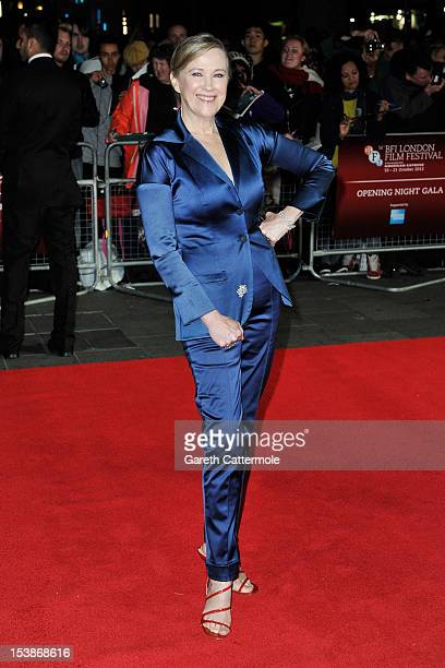Actress Catherine O'Hara attends the opening night film of the 56th BFI London Film Festival 'Frankenweenie 3D' at Odeon Leicester Square on October...