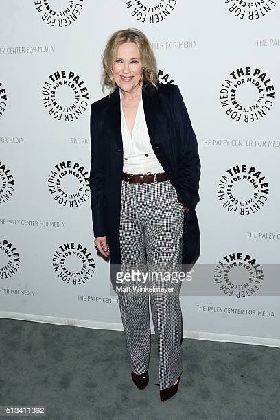 Actress Catherine O'Hara attends the Paley Center for Media presents An Evening with 'Schitt's Creek' at The Paley Center for Media on March 2 2016...