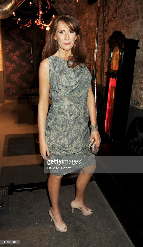 Actress Catherine Tate attends an after party celebrating press night of the new west end production of Much Ado About Nothing at The Foundation Bar on June 1, 2011 in London, England.