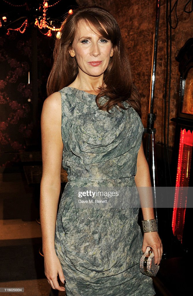 Actress <a gi-track='captionPersonalityLinkClicked' href=/galleries/search?phrase=Catherine+Tate&family=editorial&specificpeople=228589 ng-click='$event.stopPropagation()'>Catherine Tate</a> attends an after party celebrating press night of the new west end production of Much Ado About Nothing at The Foundation Bar on June 1, 2011 in London, England.