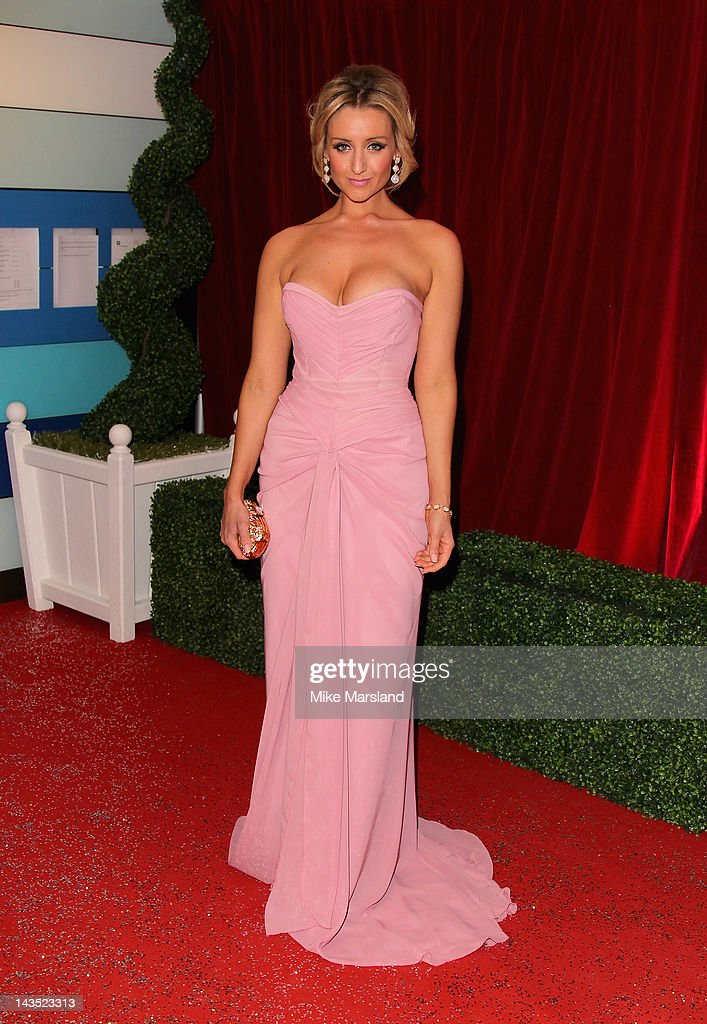 Actress Catherine Tyldesley attends the British Soap Awards at The London Television Centre on April 28, 2012 in London, England.