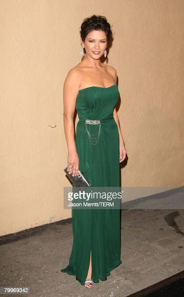 Actress Catherine ZetaJones arrives for the third annual 'A Fine Romance' an evening of celebrity performances honoring musicals from stage and...