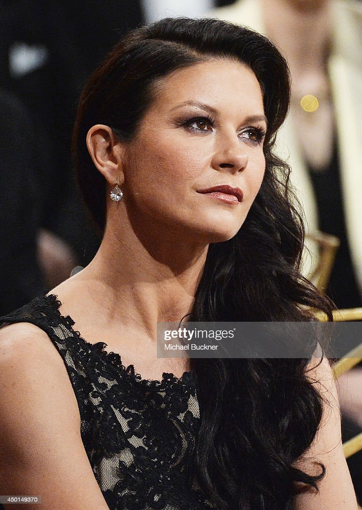 Actress Catherine Zeta-Jones attends the 2014 AFI Life Achievement Award: A Tribute to Jane Fonda at the Dolby Theatre on June 5, 2014 in Hollywood, California. Tribute show airing Saturday, June 14, 2014 at 9pm ET/PT on TNT.