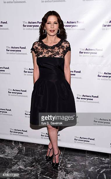 Actress Catherine ZetaJones attends the 2015 Actors Fund Gala at The New York Marriott Marquis on May 11 2015 in New York City