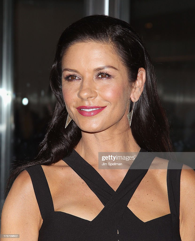 Actress Catherine Zeta-Jones attends The Cinema Society & Bally screening of Summit Entertainment's 'Red 2' at the Museum of Modern Art on July 16, 2013 in New York City.