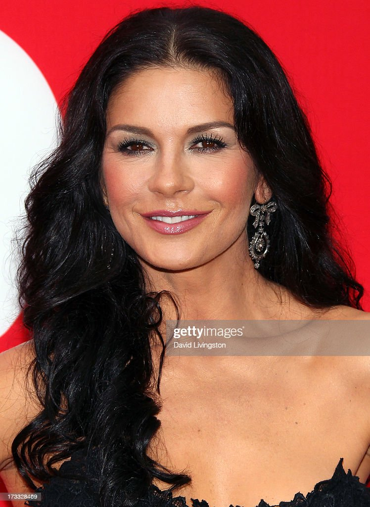 Actress Catherine Zeta-Jones attends the premiere of Summit Entertainment's 'RED 2' at Westwood Village on July 11, 2013 in Los Angeles, California.