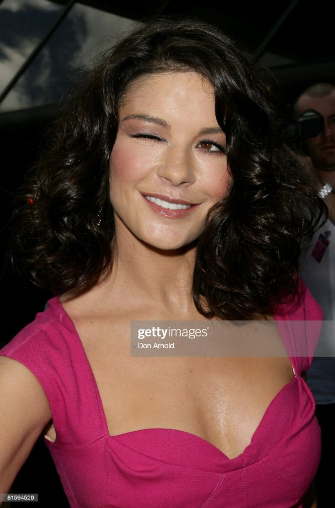 Actress Catherine Zeta-Jones poses for the media during a media call for her latest film `Death Defying Acts' at the State Theatre on March 10, 2008 in Sydney, Australia.
