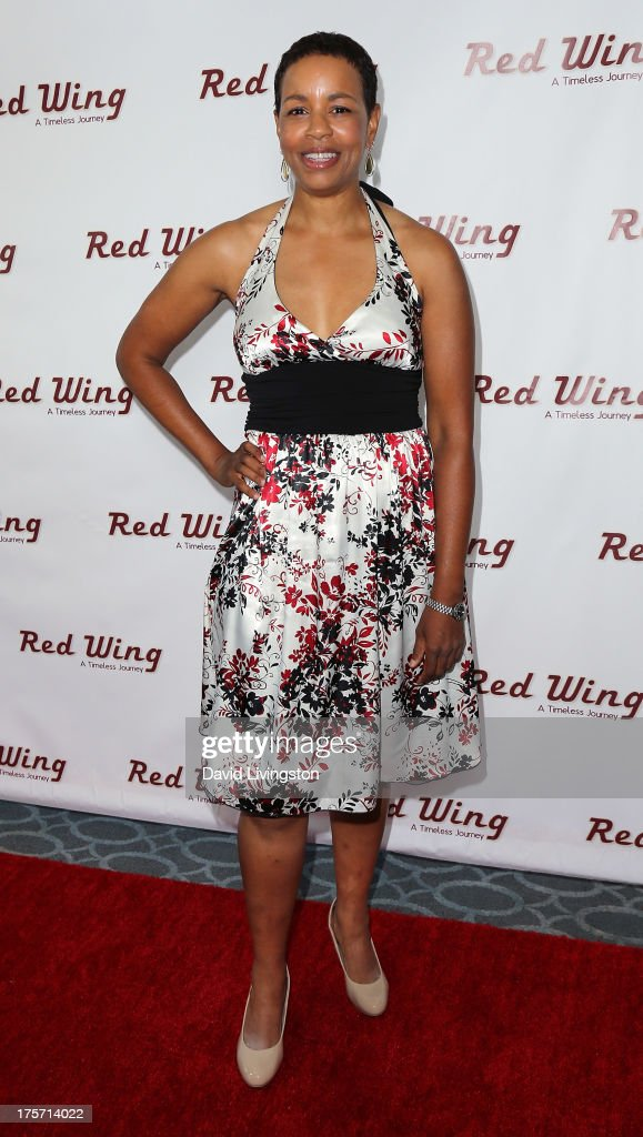 Actress Cathy Diane Tomlin attends a screening of Integrity Film Production's 'Red Wing' at Harmony Gold Theatre on August 6, 2013 in Los Angeles, California.