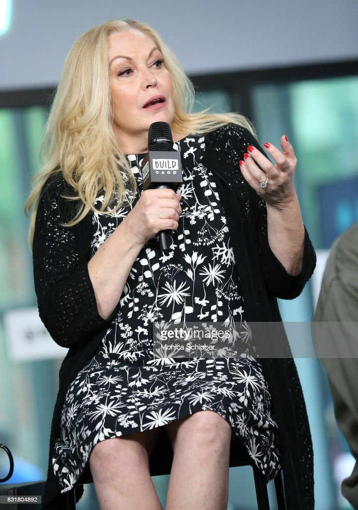 Actress Cathy Moriarty visits Build Series to discuss the movie 'Patti Cake$' at Build Studio on August 15, 2017 in New York City.