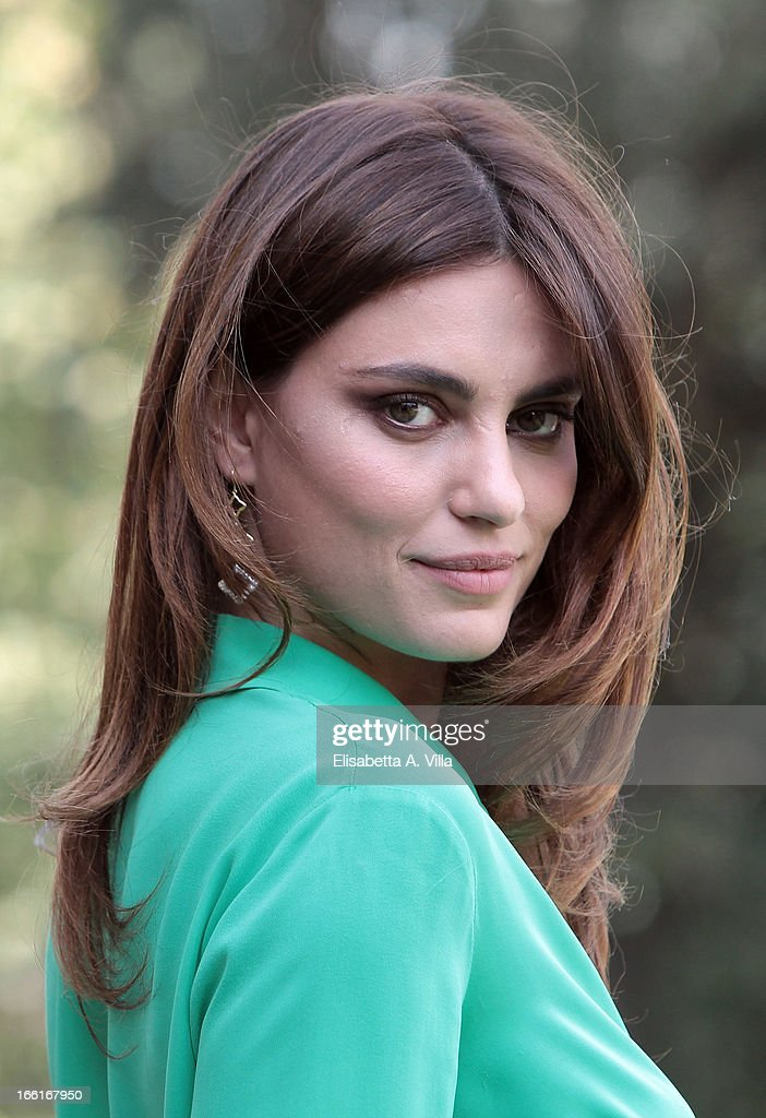 Actress Catrinel Marlon attends 'La Citta Ideale' photocall at Casa del Cinema on April 9, 2013 in Rome, Italy.