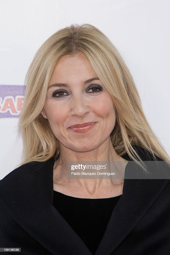 Actress Cayetana Guillen Cuervo attends 'Cuentame Como Paso' 14th Season presentation at Capitol Cinema on January 8, 2013 in Madrid, Spain.
