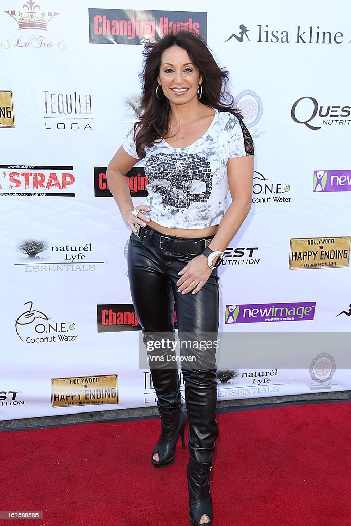 Actress CC Perkinson attends the Los Angeles premiere of the movie 'Changing Hands' at The Happy Ending Bar & Restaurant on February 24, 2013 in Hollywood, California.