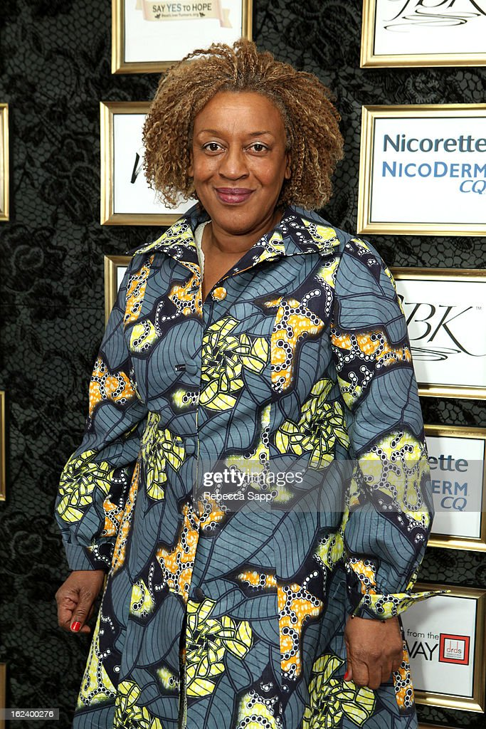Actress <a gi-track='captionPersonalityLinkClicked' href=/galleries/search?phrase=CCH+Pounder&family=editorial&specificpeople=208886 ng-click='$event.stopPropagation()'>CCH Pounder</a> at GBK's Oscars Gift Lounge 2013 - Day 1 at Sofitel Hotel on February 22, 2013 in Los Angeles, California.