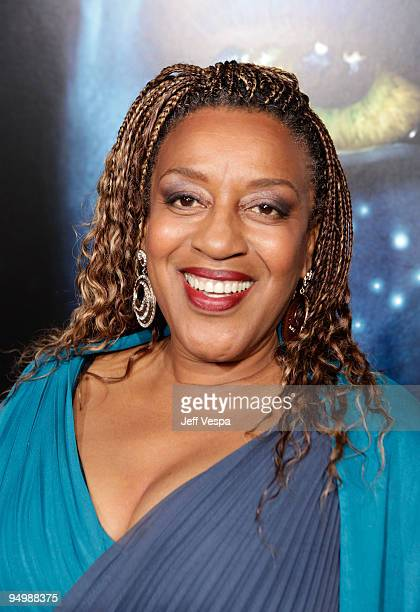 Actress CCH Pounder attends the 'Avatar' Los Angeles premiere at Grauman's Chinese Theatre on December 16 2009 in Hollywood California