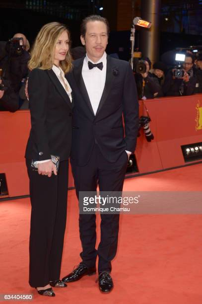 Actress Cecile de France and Reda Kateb attend the 'Django' premiere during the 67th Berlinale International Film Festival Berlin at Berlinale Palace...