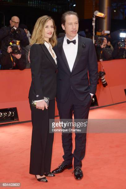Actress Cecile de France and Reda Kateb attends the 'Django' premiere during the 67th Berlinale International Film Festival Berlin at Berlinale...