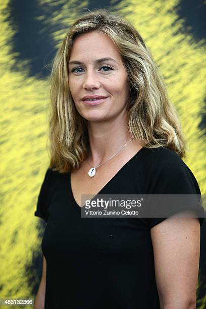 Actress Cecile de France attends La Belle Saison photocall on August 6 2015 in Locarno Switzerland