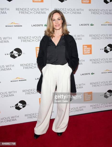 Actress Cecile de France attends the opening night premiere of 'Django' at The Film Society of Lincoln Center Walter Reade Theatre on March 1 2017 in...