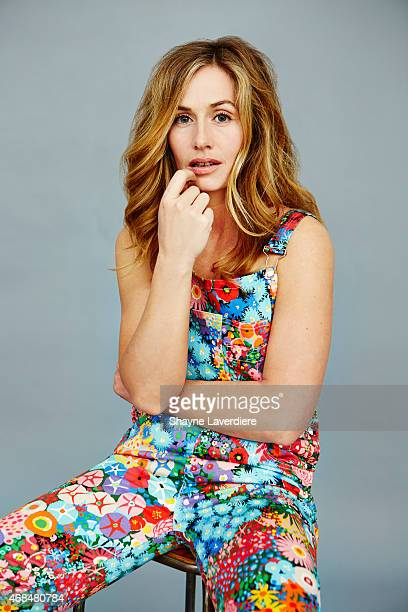 Actress Cecile de France is photographed for Self Assignment on March 9 2015 in Paris France